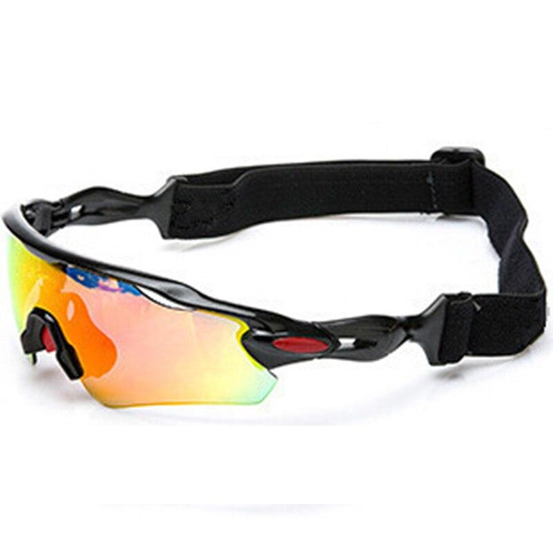Professionnel Polarisées lunettes de sports de plein air Lunettes de Vélo VTT Vélo Lunettes Unisexe Pêche Conduite Lunettes De Soleil UV400 5 Lentille