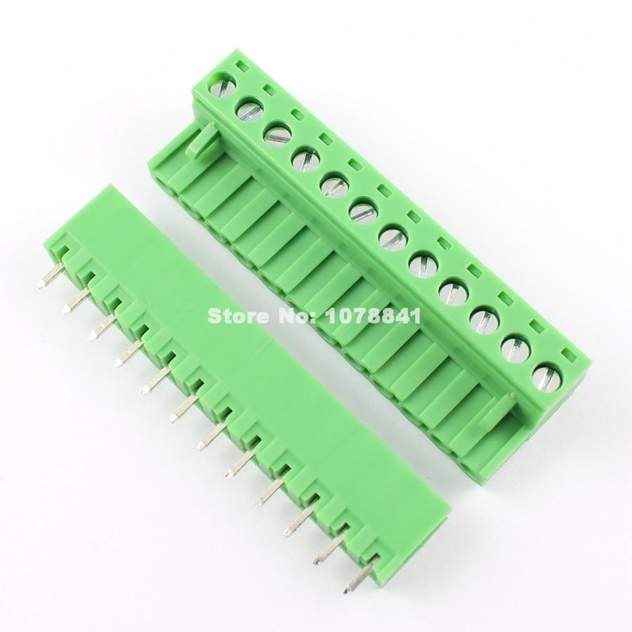 6 Pin Terminal Block Škoda 1j0973713: 5 Pcs Per Lot 5.08mm Pitch 12 Pin 12 Way Screw Pluggable