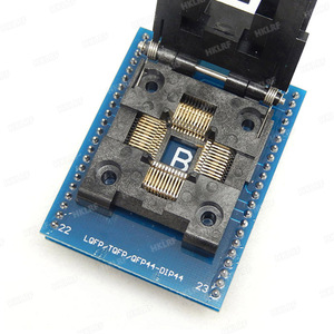 Image 2 - TQFP44 zu DIP44/LQFP44 zu DIP44 Programmierer Adapter Buchse für RT809H & TNM5000 programmierer & XELTEK USB programmierer Gute qualität