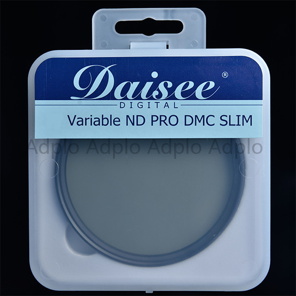 Daisee 62 mm camera lens filter / optical glass VARIABLE ND PRO DMC SLIM Filter / adjustable neutral density filter