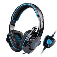 SADES SA 901 Professional 7 1 Surround Sound USB Noise Cancelling Wired Gaming Headset Headphone With