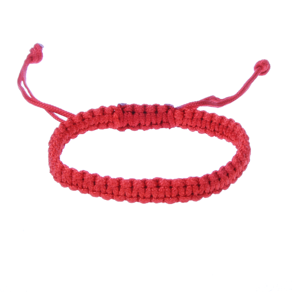 Tibetan Buddhist Red String Bracelet For Men And Men Adjustable Lucky Rope Handmade Stretch