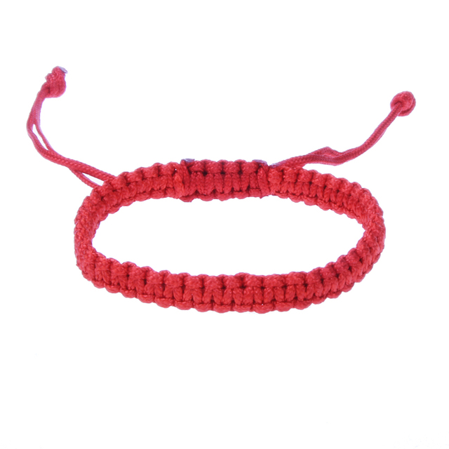Tibetan Buddhist Red String Bracelet For Men And Adjule Lucky Rope Handmade Stretch Knots