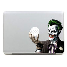 Batman Joker clown Decalcomania Del Vinile Autoadesivo per DIY Macbook Pro/Air 11 13 15 Pollice Caso Della Copertura Autoadesivo Del Computer Portatile(China)