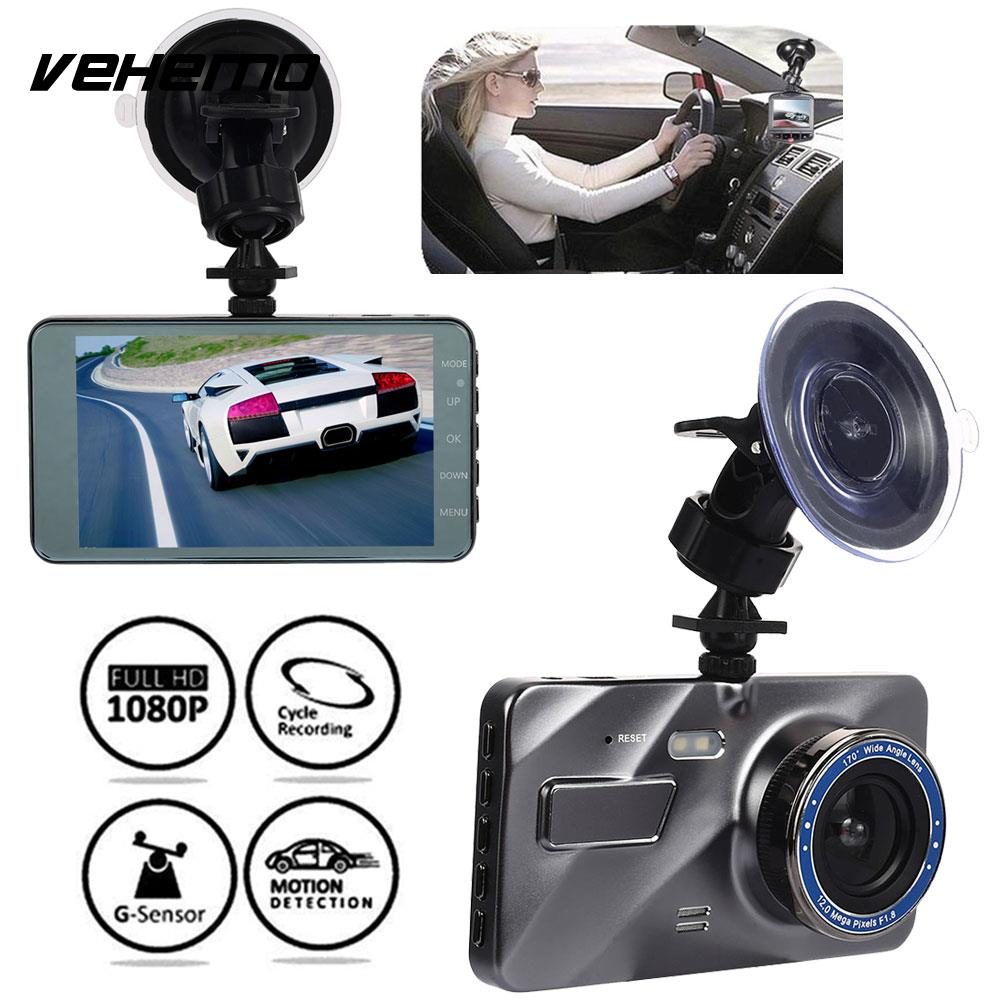Driving-Recorder HD1080P Parking-Monitor Dash-Cam Night-Vision Auto-On/off-Motion-Detection