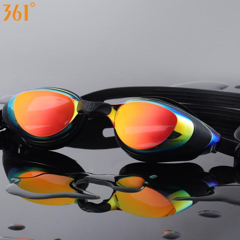 361 Myopia Swimming Goggles Prescription Swimming Glasses For Pool Mirrored Diopter Swim Goggle For Adult Men Women Children