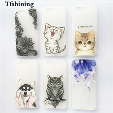 Phone Cases For ZTE Z10 Z 10 Soft TPU Case FOR Blade A512 Cover Silicone Colorful Print Back  Protective
