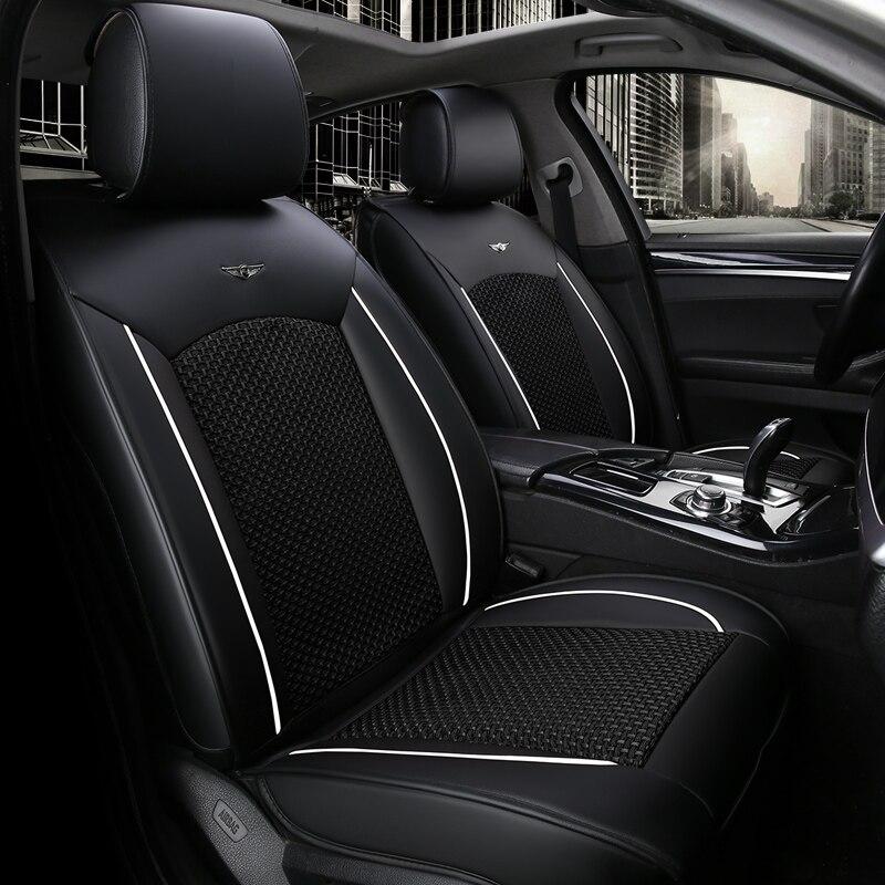 Подушки сиденья автомобиля полный толщиной дышащий мест для Camry не жарко Авто Чехлы для Крус