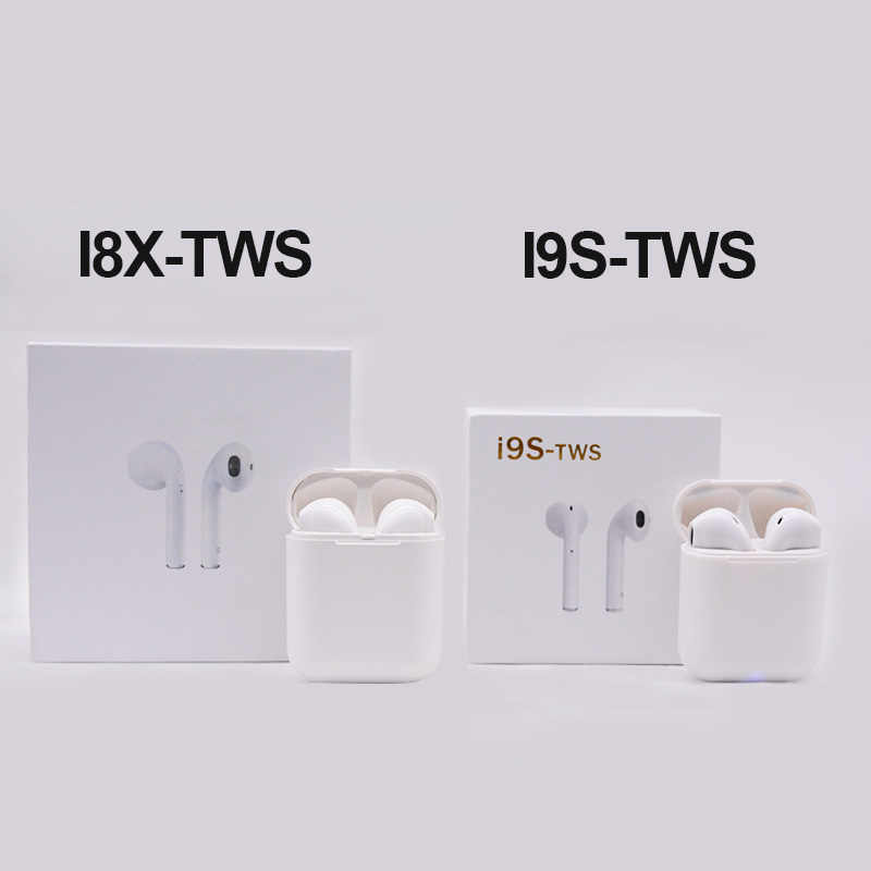 i8x Ifans TWS Earbud Wireless Afans I9S tws Bluetooth Earphones Twins  Double Earbuds Mini Calling Music Headset for Smart Phones