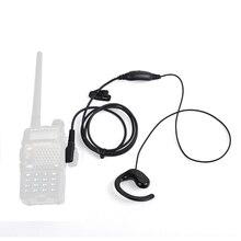 HYS Earhook Earpiece Headset for Walkie Talkie Two Way Radio Kenwood TH-22A TH-235 TK-378 Baofeng UV-82 UV-5RC BF-777
