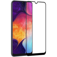 wholesale 50Pcs Full Cover Tempered Glass For Samsung Galaxy M10 M20 M30 A10 A20 A30 A40 A50 Full Glue Screen Film Glass
