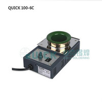 Originele QUICK100-6C Iron loodvrij Tin Oven (400 w) Smelten Tin Oven Tin Oven