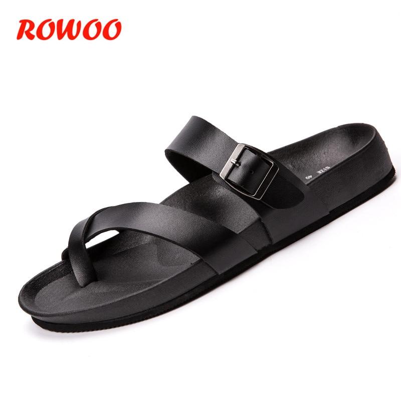 754c2e24b New-2018-Black-Summer-Slippers-Men-Poly-Urethane-Outdoor-Home-Shoes-Men -s-Beach-Slippers-Male.jpg