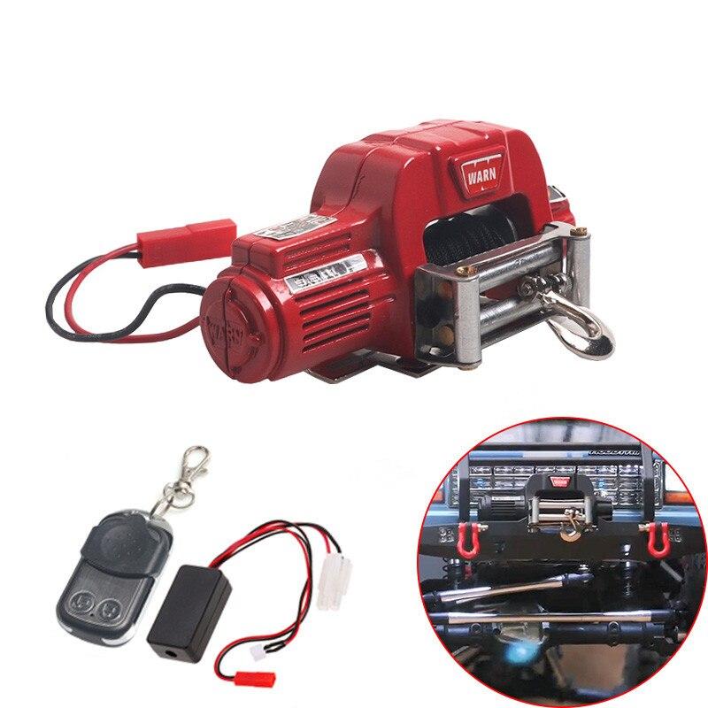 RC Crawler Car Winch Funkfernbedienungsempfänger für 1//10 Traxxas Hsp SCX10