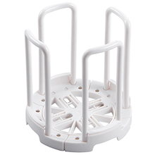 Kitchen Plate Rack Pot Lid Holder Plastic Dish Drying Rack Holder Simple And Retractable Drain Dish Rack Cup Holder