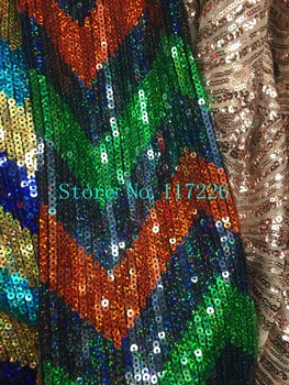 French Tulle Lace sequins Mesh Wedding Dress Fabric JRB-7106 Latest Design with color ful sequins High Quality
