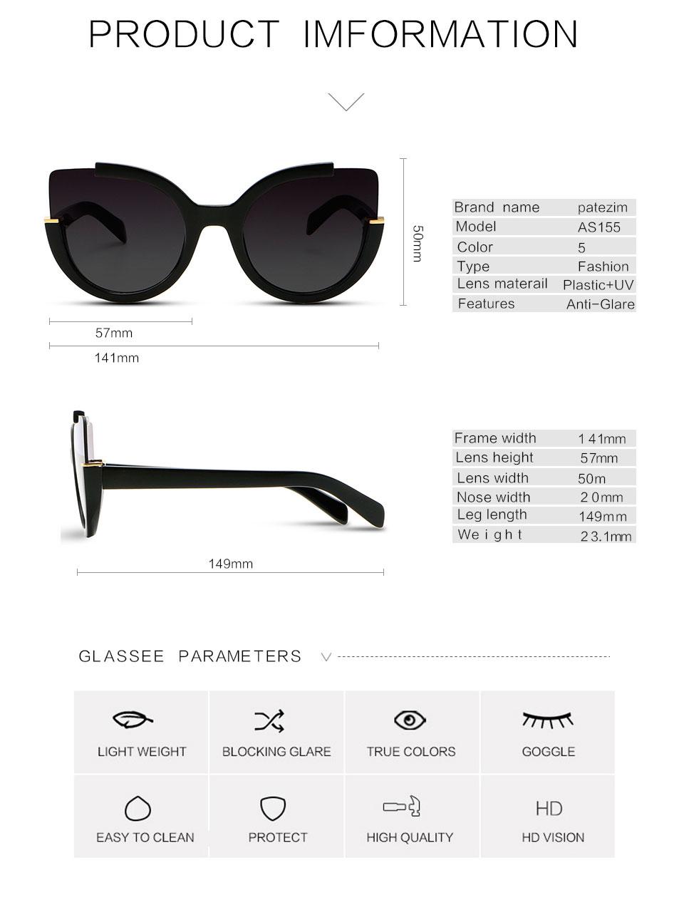 HTB1dwT8PFXXXXbrXpXXq6xXFXXX4 - Cat Eye Sunglasses Women 2017 High Quality Brand Designer Vintage Fashion Driving Sun Glasses For Women UV400 lens gafas de sol
