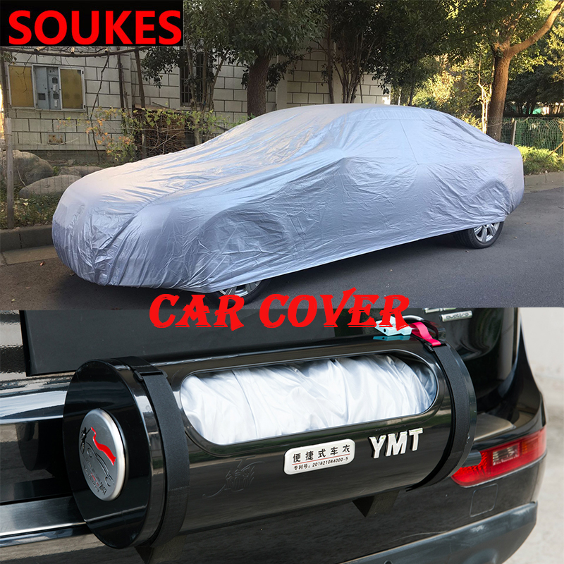 Car Cover Porsche Boxster,Porsche 918,Porsche Cayman,Macan,Panamera Special Car Cover Car Clothing Thick Oxford Cloth Sun Protection Rain Cover Car Cloth Car Cover Color : Black, Size : 718