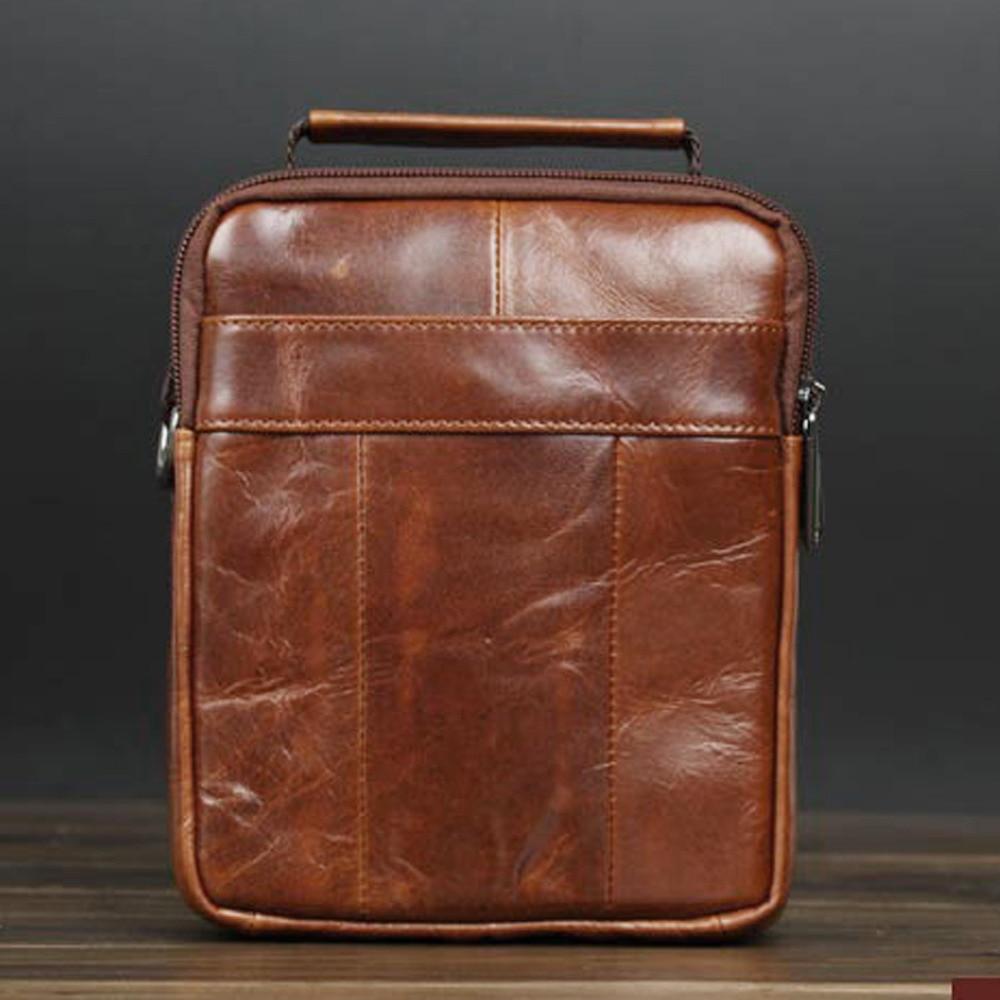 crossbody sacolas do homensageiro real Size : 15.5(w)*8.5cm(d)*19cm(h)(6.1*3.3*7.5)