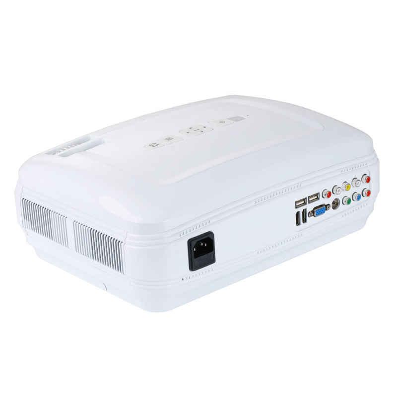 Распродажа на складе! Светодиодный hd-проектор Beamer 5000 люмен LCD Proyector tv Full HD видео домашний кинотеатр мультимедиа HDMI/VGA/AV/USB