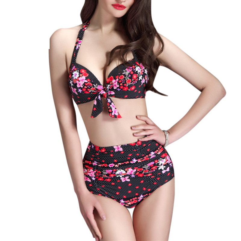 Honor your curves in our vintage style swimsuits! Whether you prefer a bikini or a one peice, our swim is available for every body in sizes XS-4X.