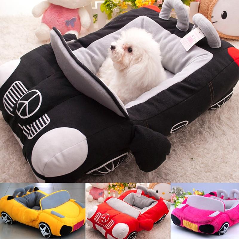 Cool Unique Winter W arm Dog Car Beds Detachable Padded ...