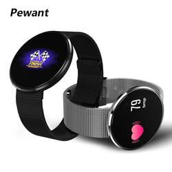 2018 Новый Pewant умный браслет с сна трекер монитор сердечного ритма Фитнес браслет Поддержка Шагомер Смарт-браслет