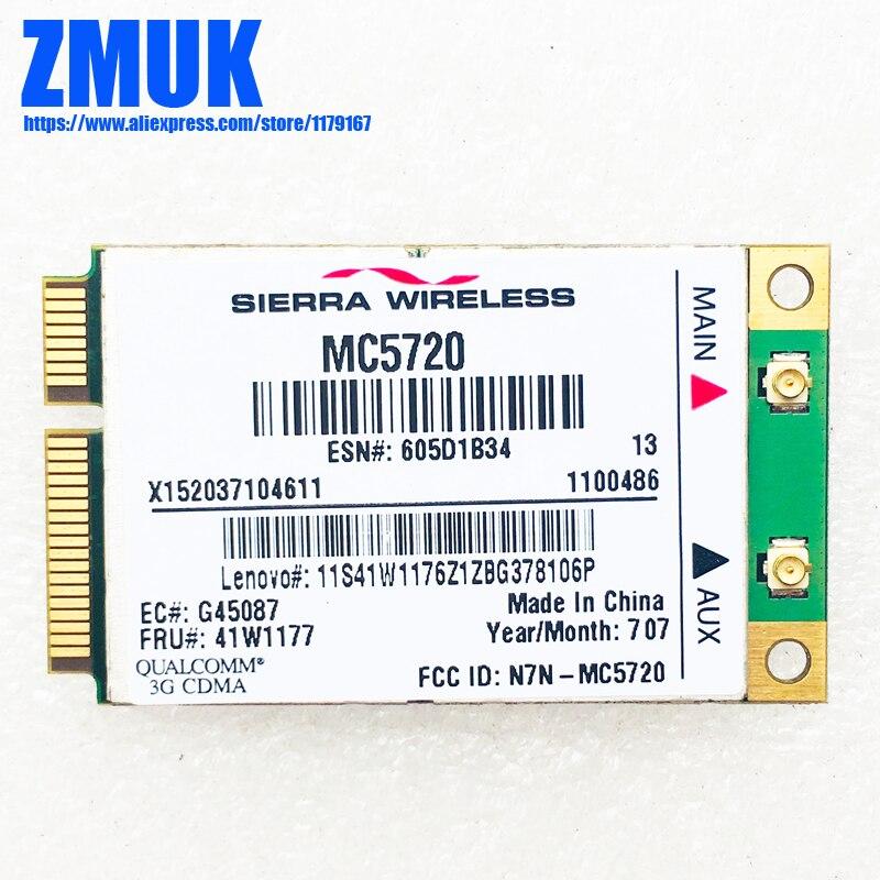 MC5720 3G WWAN Card For Lenovo Thinkpad R60 R61 X60 X61 T60 Z61 Series,P/N 41w1177 39T5664