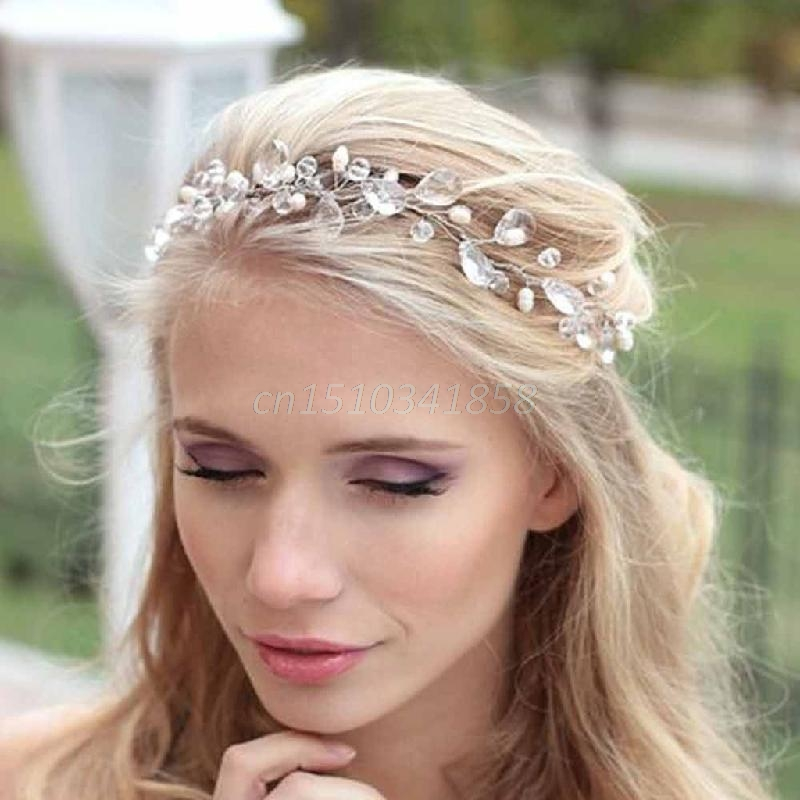 Europe Style Wedding Garland Hairband Bridal Headpiece Hair Accessories New #Y51#