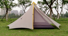 Large Pyramid Tent With Silicone Coating