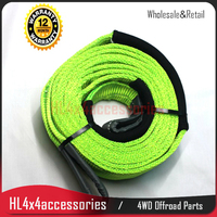 Offroad 12 Ton Tree Trunk Protector Winch Tow Strap Snatch Strap 3M Double Layer Tree Trunk