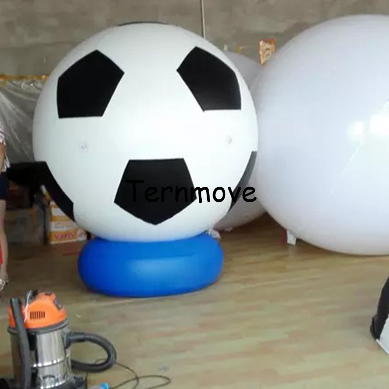 large inflatable soccer balloon with bottom sport ball PVC football Event Display helium balloon large sky balloonslarge inflatable soccer balloon with bottom sport ball PVC football Event Display helium balloon large sky balloons