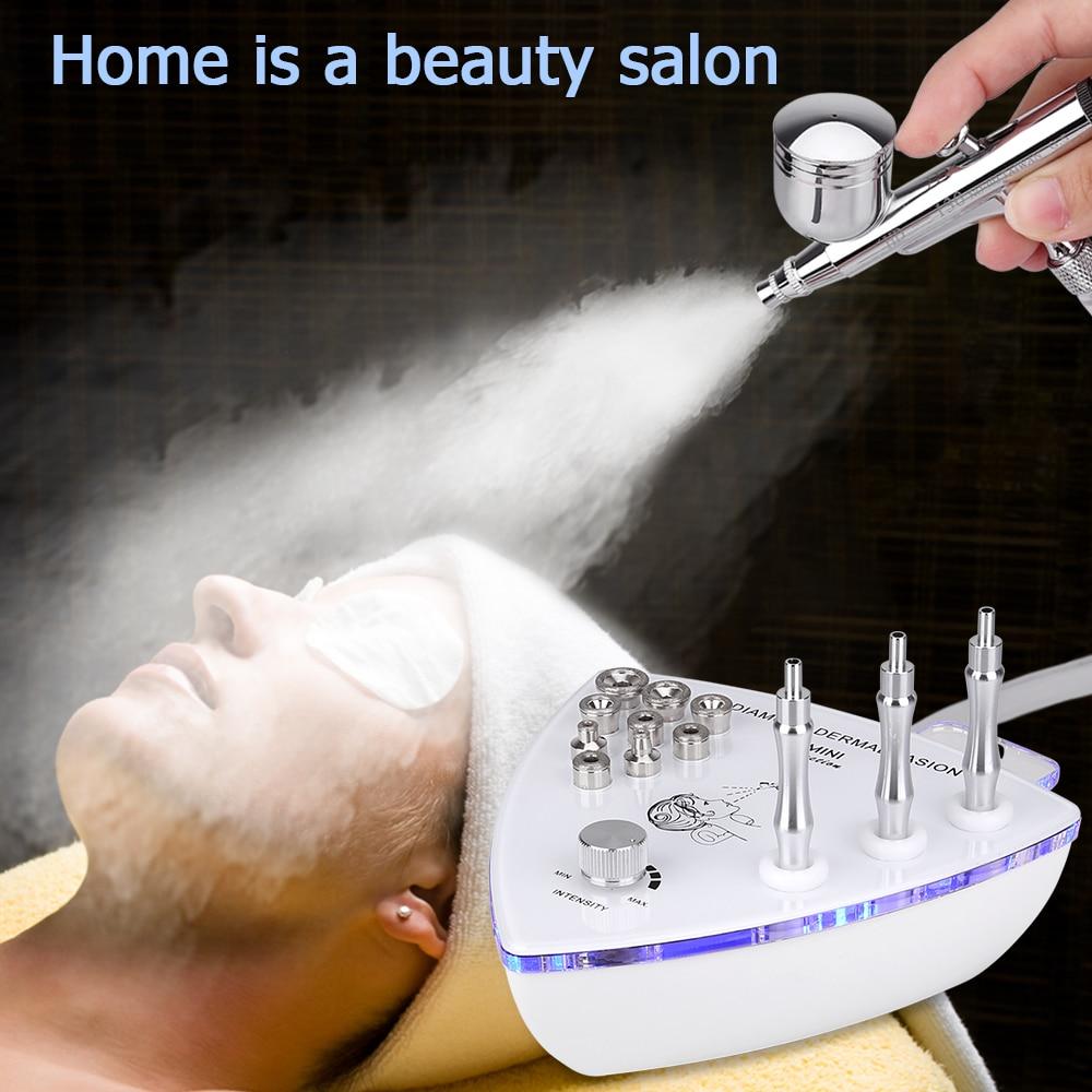 Image 4 - Beauty Star Diamond Microdermabrasion Dermabrasion Machine With Spray Gun Water Spray Vacuum Suction Exfoliation Facial Massage-in Microdermabrasion Peel Machine from Beauty & Health