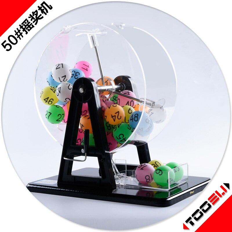 Instrukcja wstrząsnąć maszyna do loterii rozrywki zabawki edukacyjne z 1 50 cyfrowy numer kolor kulki gry w Sprzęt edukacyjny od Artykuły biurowe i szkolne na  Grupa 1