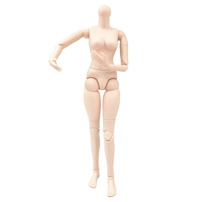 New 14/18/22 Inch Movable Jointed <font><b>BJD</b></font> Dolls Body DIY <font><b>1/4</b></font> 1/3 Naked Nude Female <font><b>bjd</b></font> Body Doll Toy For Girls Gift image