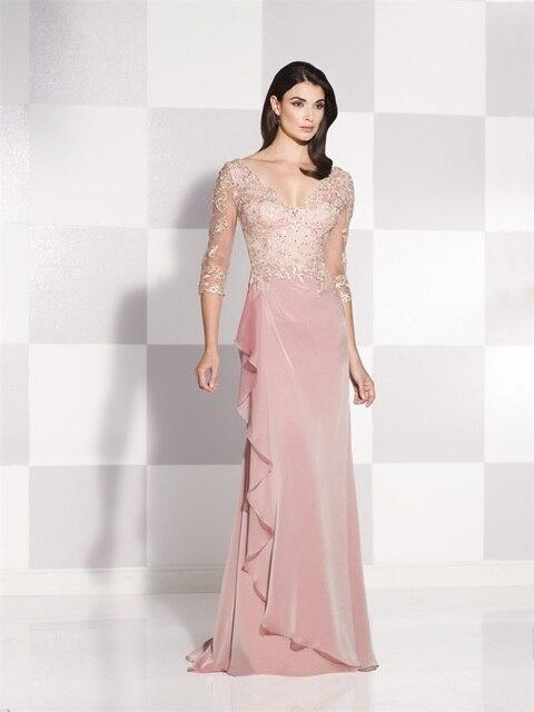 Últimas diseño rubor madre De la novia traje pantalón 2015 apliques ...