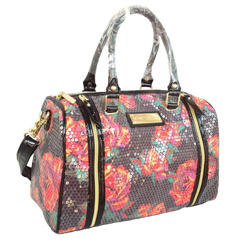 ФОТО Women Bag TOTE flower messenger bags Rose Garden Large Satchel women handbags dollar price  bolsa feminina  shopping bag