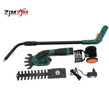 ET1502 7.2V Electric Lawn Mower Rechargeable Grass Cutting Pruning Machine Hedge Trimmer Grass Cutter Cordless Garden Tools