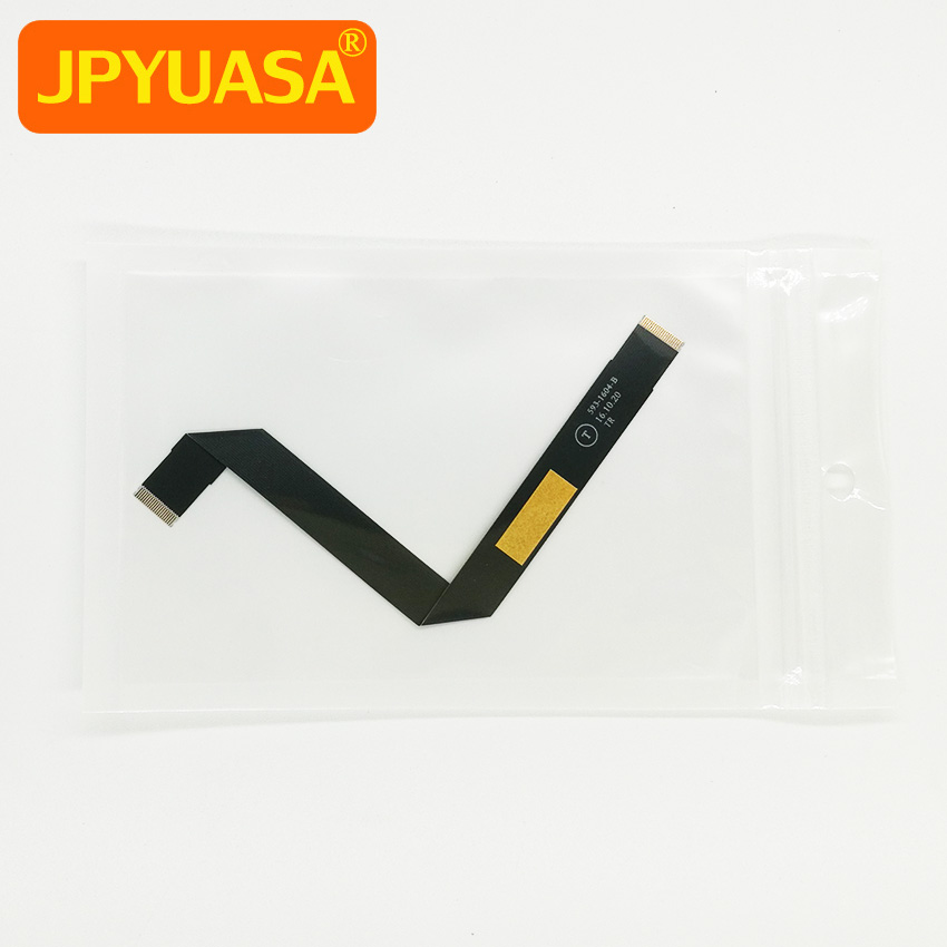 New Touchpad Trackpad Cable 593-1604-B For MacBook Air 13.3 A1466 2013 2014 2015 Years new topcase with tr turkish turkey keyboard for macbook air 11 6 a1465 2013 2015 years