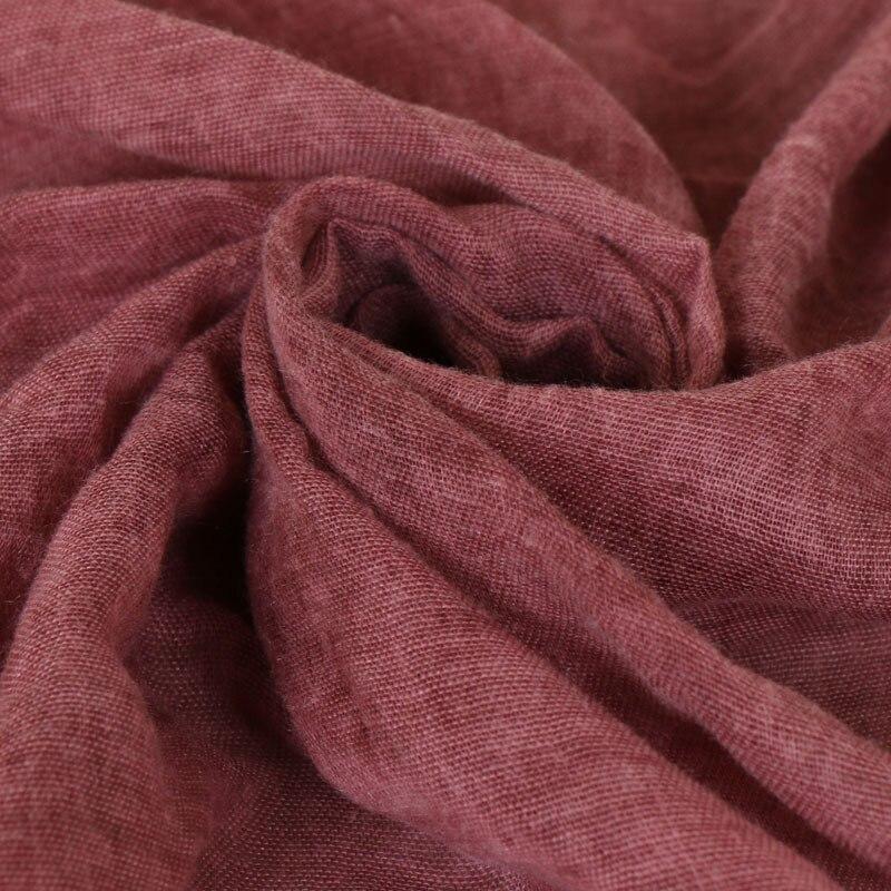 Image 4 - Muslim Amorous Cotton Woman Lace Monochrome Lady Scarf New  Pattern Hijabs Wholesale hijab turban femme turbante mujerIslamic  Clothing