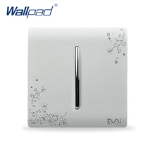 Free Shipping, Karpinski Luxury Wall Switch Panel, 1 Gang 1 Way, Light switch,C30 Series ,110~250V