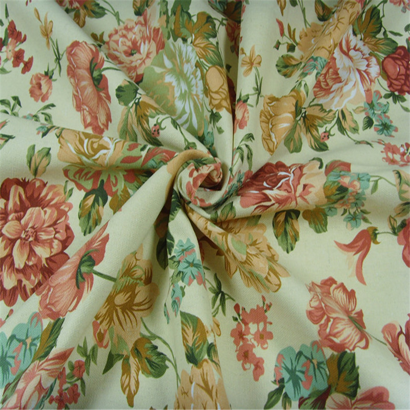 1 5 meter width cotton canvas curtains, tablecloths and cushions can be customized