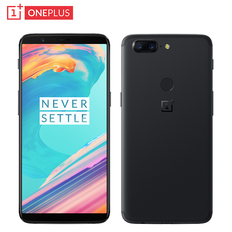 Original OnePlus 5T Cell Phone 6 01 inch 8GB RAM 128GB ROM Snapdragon 835 Octa Core