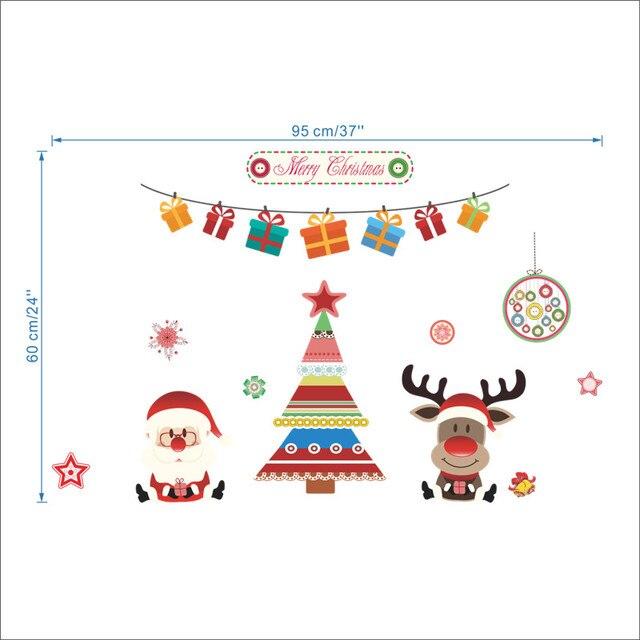 Santa and Reindeer Tree