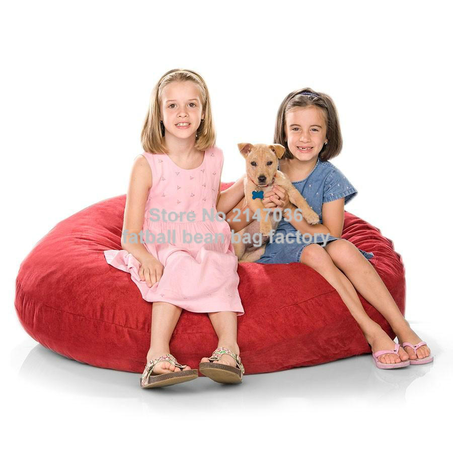 Two Room Seat Bean Bag Chair Home