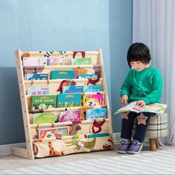 Kid's picture book rack living room  home office furniture toy shelf