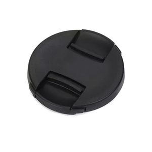 Image 2 - 10 Stks/partij Hoge Kwaliteit 49 52 55 58 62 67 72 77 82Mm Center Pinch Snap On cap Cover Voor Canon Camera Lens