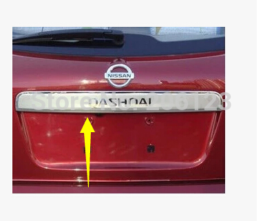 Rear Trunk Lid Trim Cover Fit For Qashqai Dualis 2007-2012