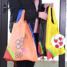 1PC Strawberry Foldable Shopping Bags Creative Environmental Storage Bag Handbag Reusable Folding Grocery Nylon Large