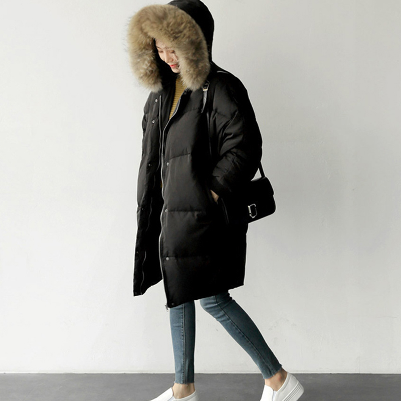 0b028d3b6 Winter Jacket Oversized Women Parka Coat Fur Quilted Long Large Big Plus  Size Female Warm 2018 Down Clothes Outerwear Puffer 63-in Parkas from  Women s ...